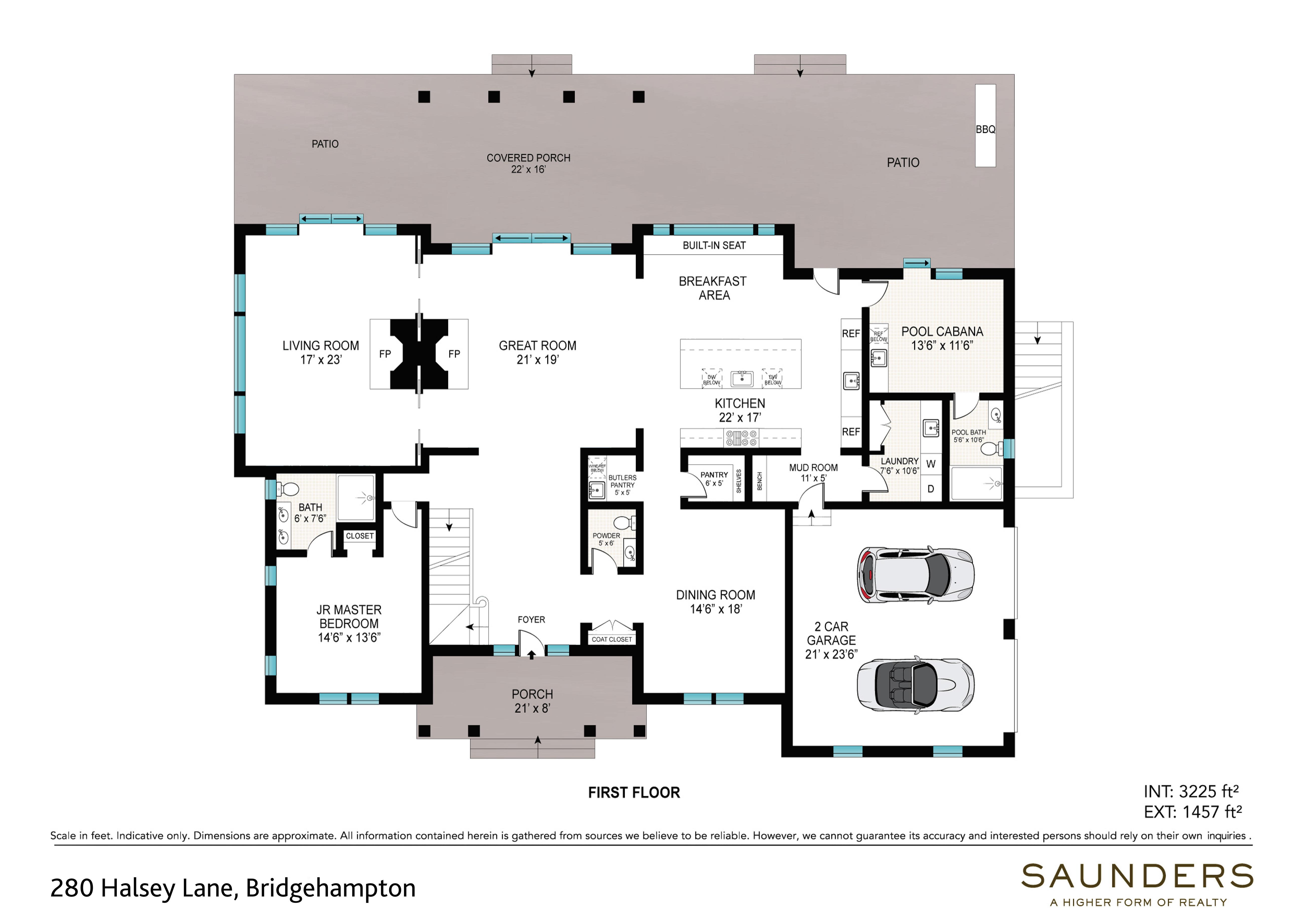 Casa Unifamiliar por un Alquiler en Bridgehampton South Summer Rental On Reserve 280 Halsey Lane, Bridgehampton, Nueva York