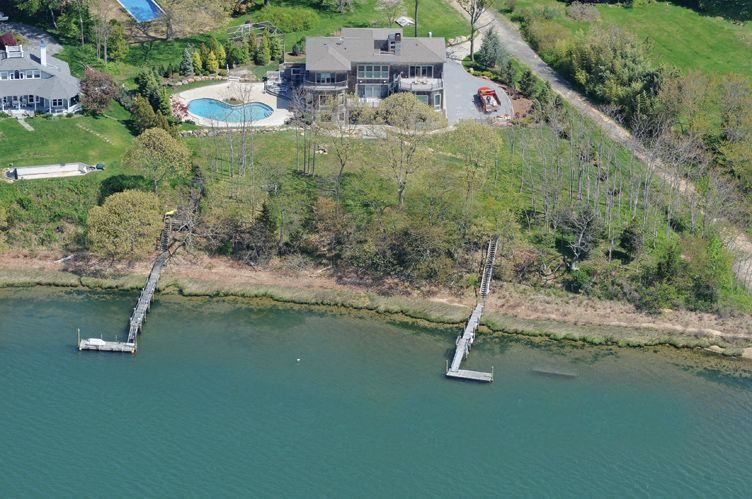 Single Family Home for Rent at Stunning Bay Front Shelter Island, New York