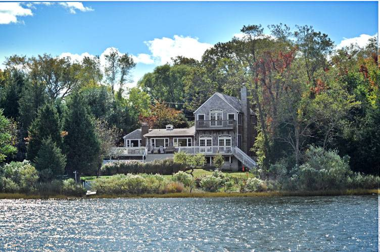 Single Family Home for Sale at Waterfront Jewel Sag Harbor, New York