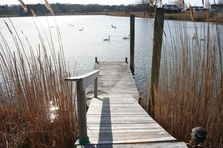 Additional photo for property listing at Water Front In Water Mill  Water Mill, New York