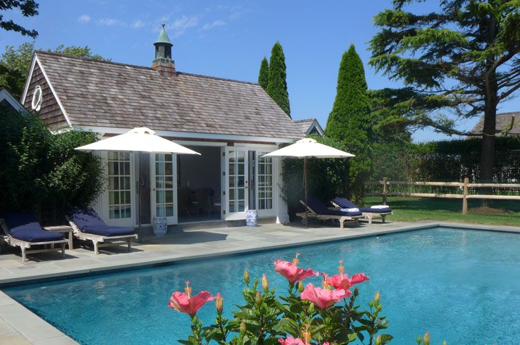 Single Family Home for Rent at Picturesque Hedges Lane Summer Rental Sagaponack, New York