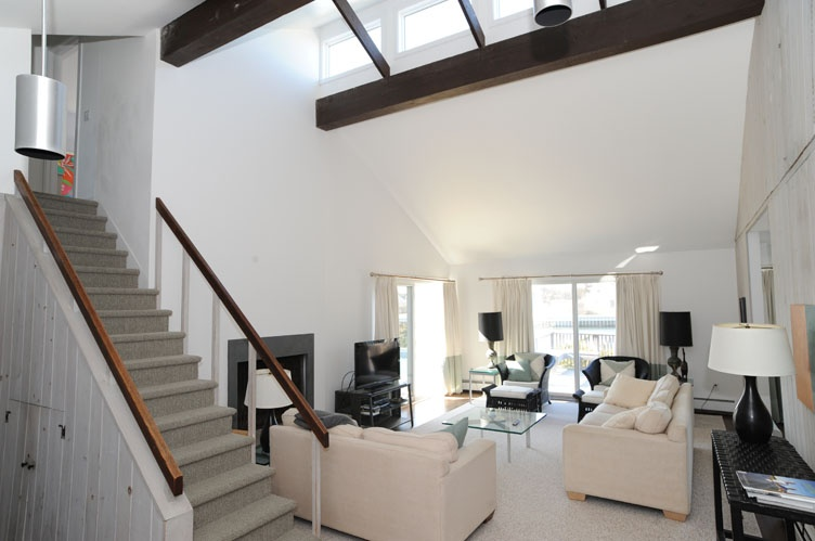 Additional photo for property listing at On The Canal With A Water Side Pool  Quogue, New York