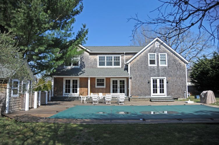 Single Family Home for Rent at East Hampton Traditional East Hampton, New York