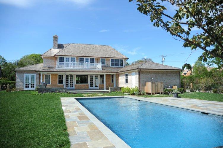 Casa Unifamiliar por un Alquiler en New Michael Davis Home On Parsonage Lane In Sagaponack Sagaponack, Nueva York