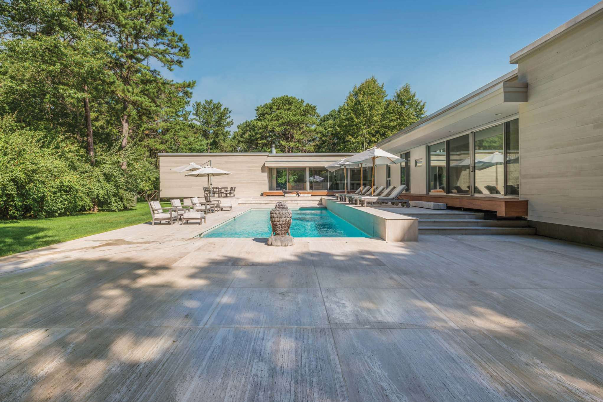 Single Family Home for Sale at Live In Your Art A Modern Masterpiece In Sagaponack 25 Forest Crossing, Sagaponack, New York