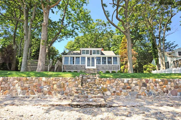Single Family Home for Rent at Shelter Island Harbor Front Cottage Shelter Island, New York