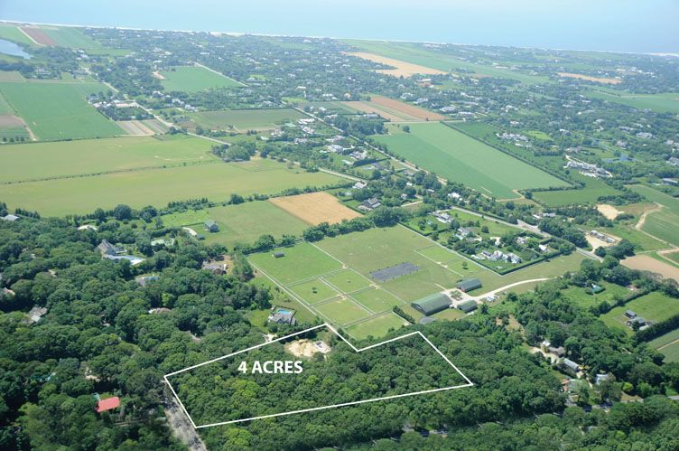 Land for Sale at Rare 4 Acres In Wainscott South 8 Sayres Path, Wainscott, New York