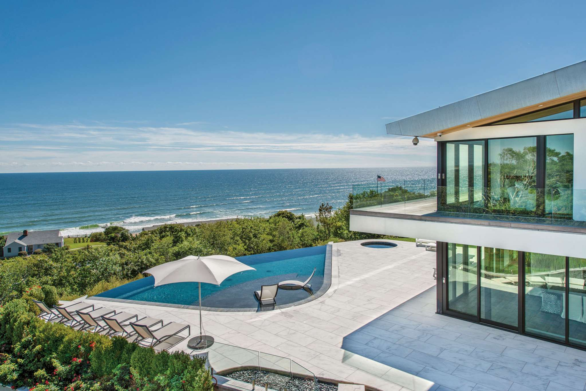 Single Family Home for Sale at New Montauk Modern Masterpiece With Spectacular Ocean Views 14 Maple Street, Montauk, New York