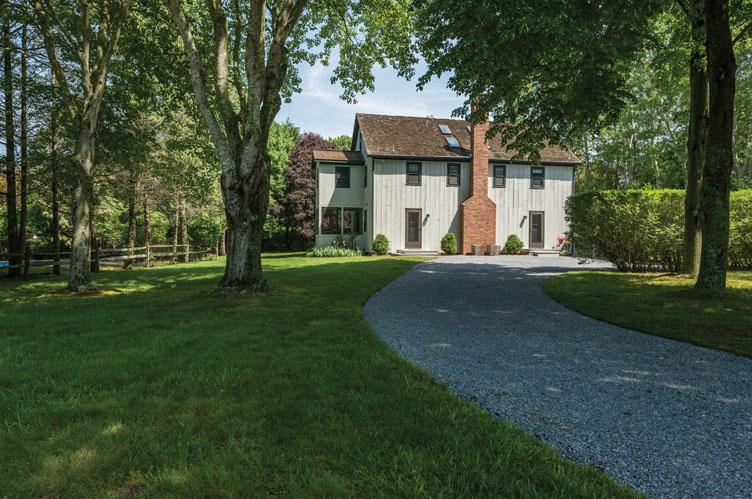Single Family Home for Rent at Stylish Water Mill Barn Water Mill, New York