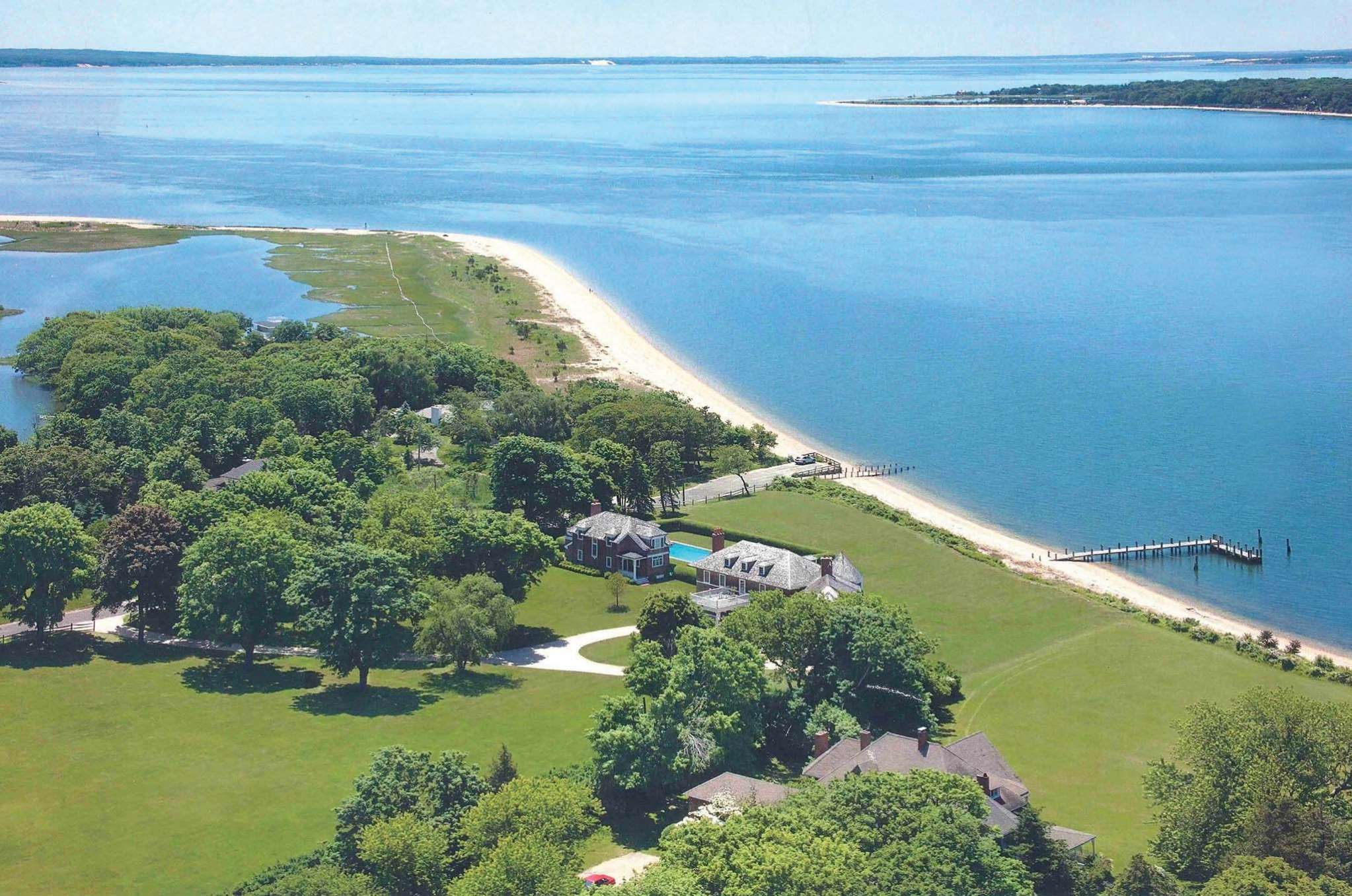 Single Family Home for Rent at Shelter Island Sunset Waterfront Estate On 3+ Acres Shelter Island, New York