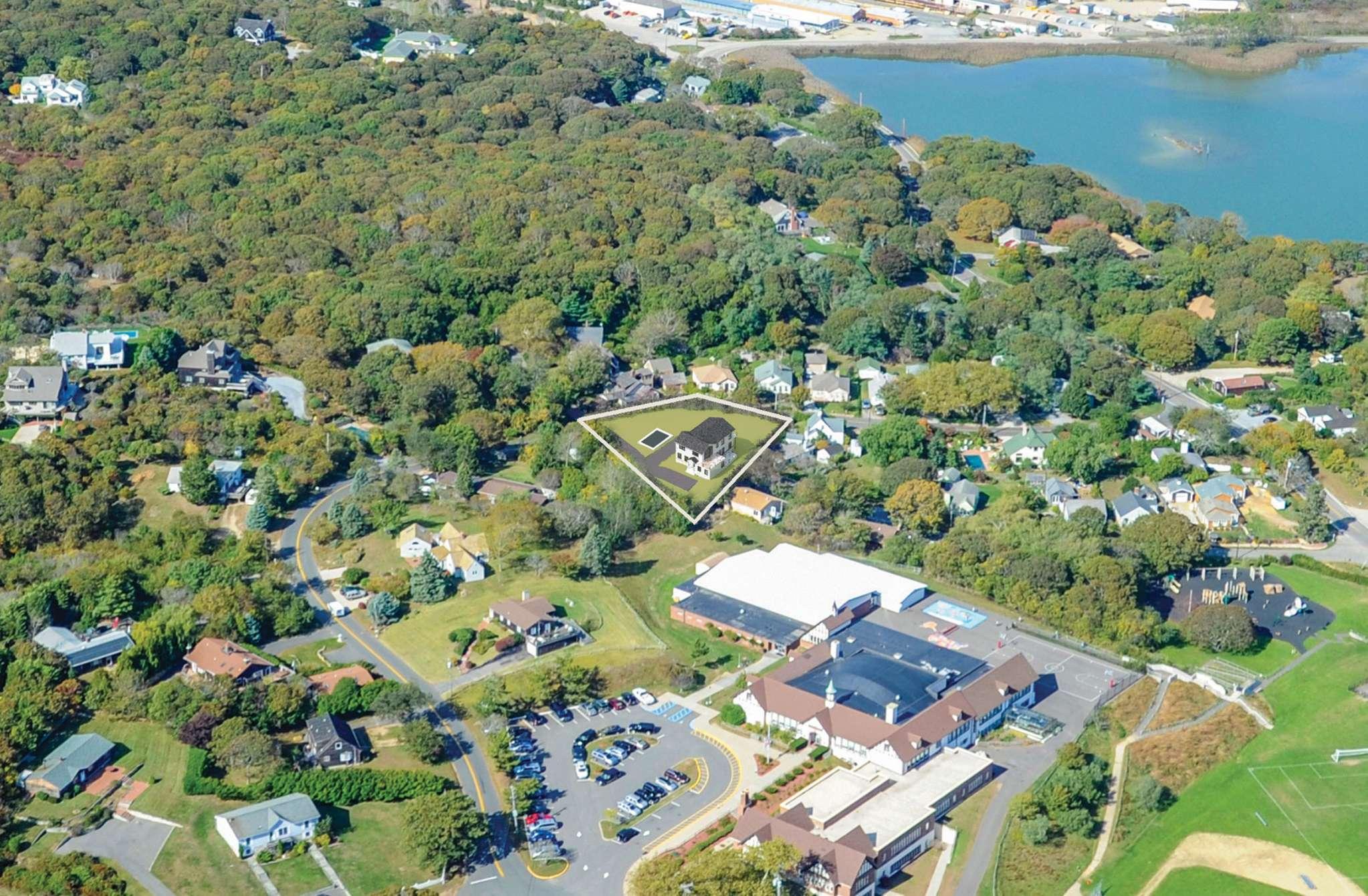 Single Family Home for Sale at Custom New Construction, Montauk Water Views 29 Dewey Place, Montauk, New York