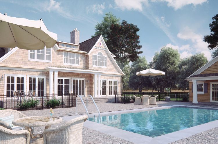 Single Family Home for Sale at Southampton New Construction Southampton, New York