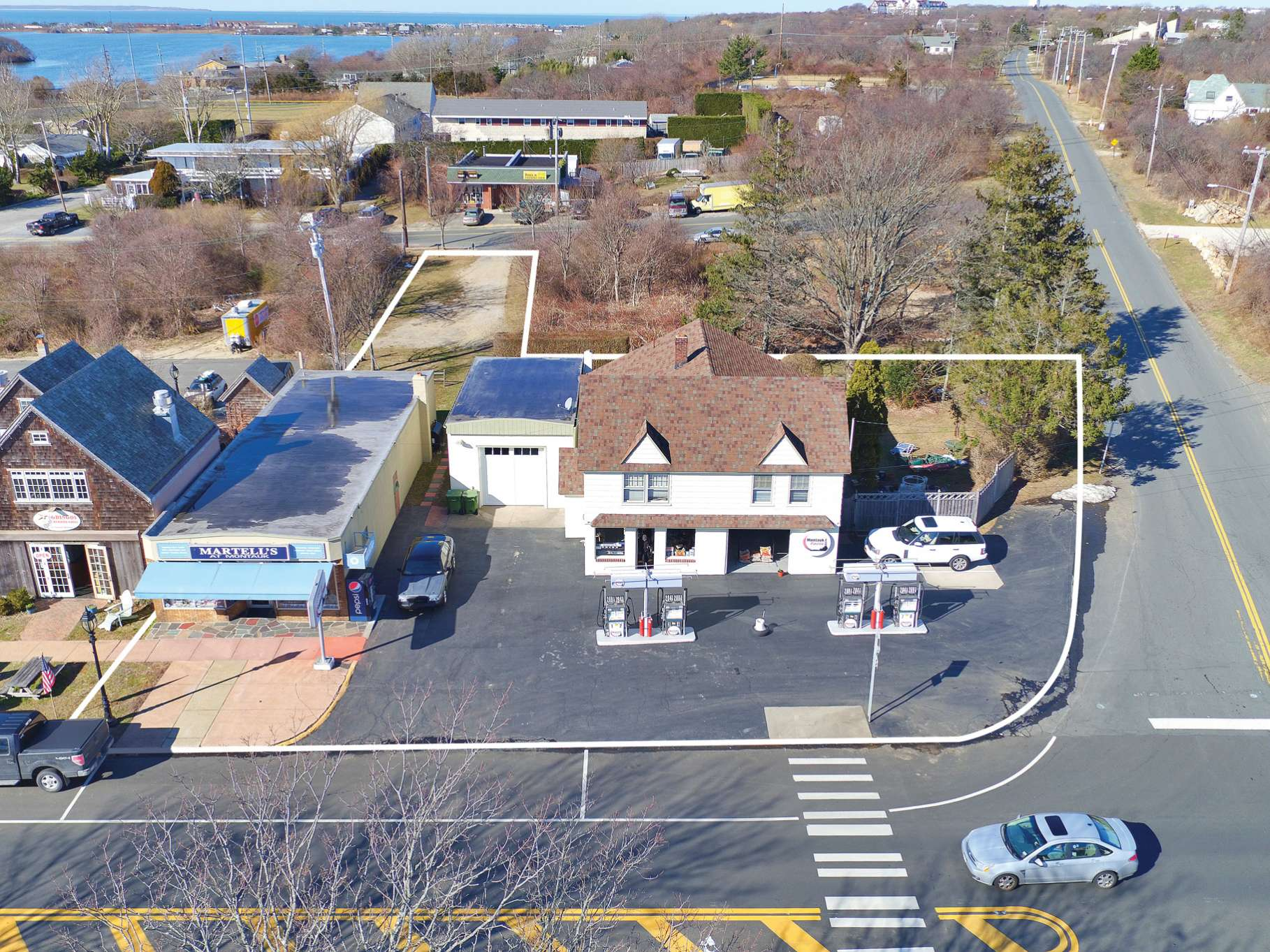 Commercial for Sale at Main Street Montauk Prime Commercial Real Estate 813 Main Street, 809 Main Street, 90 S Euclid Avenue, Montauk, New York