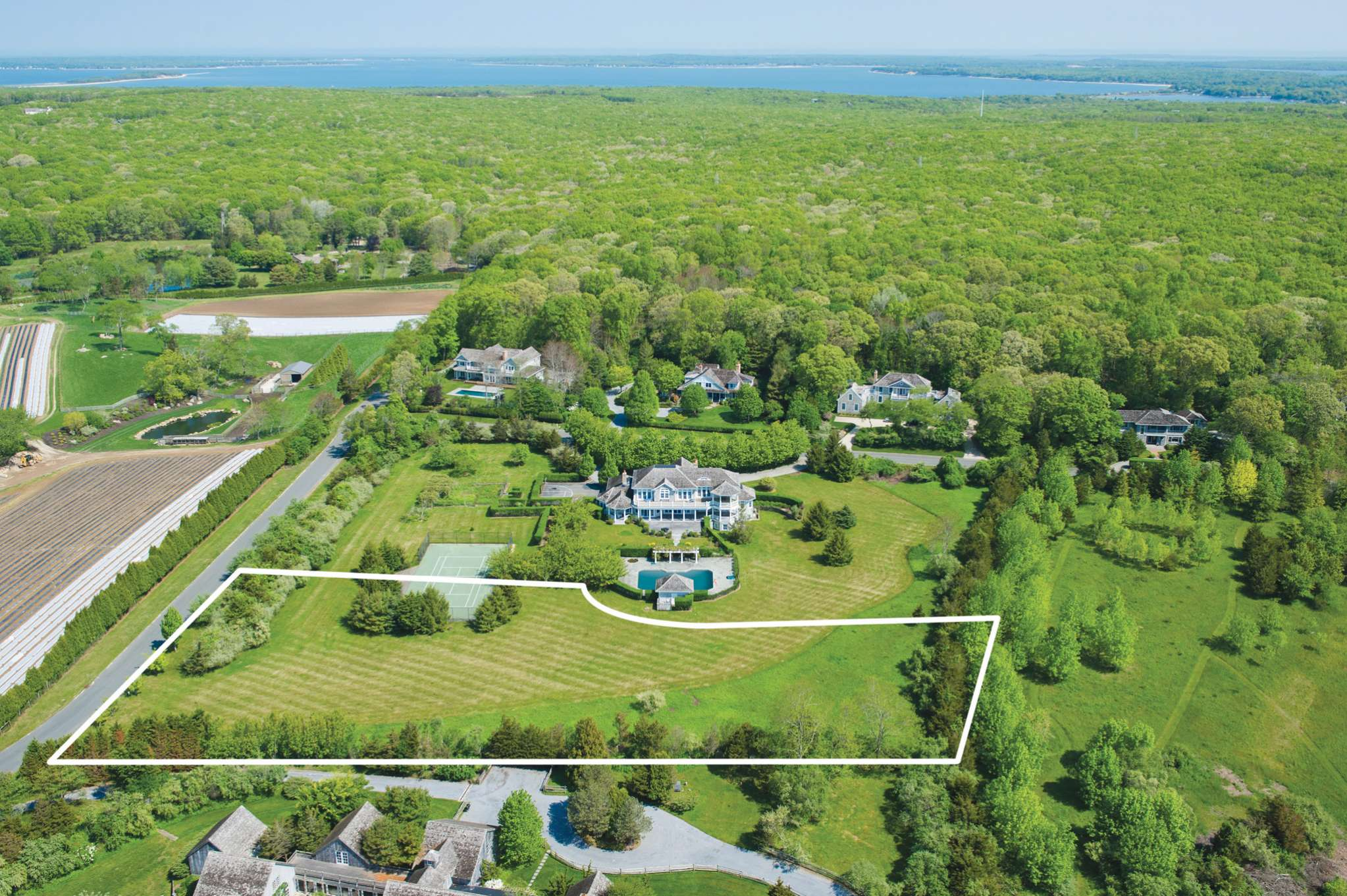 Land for Sale at Bridgehampton Estate Land 2 Mill Path, Bridgehampton, New York