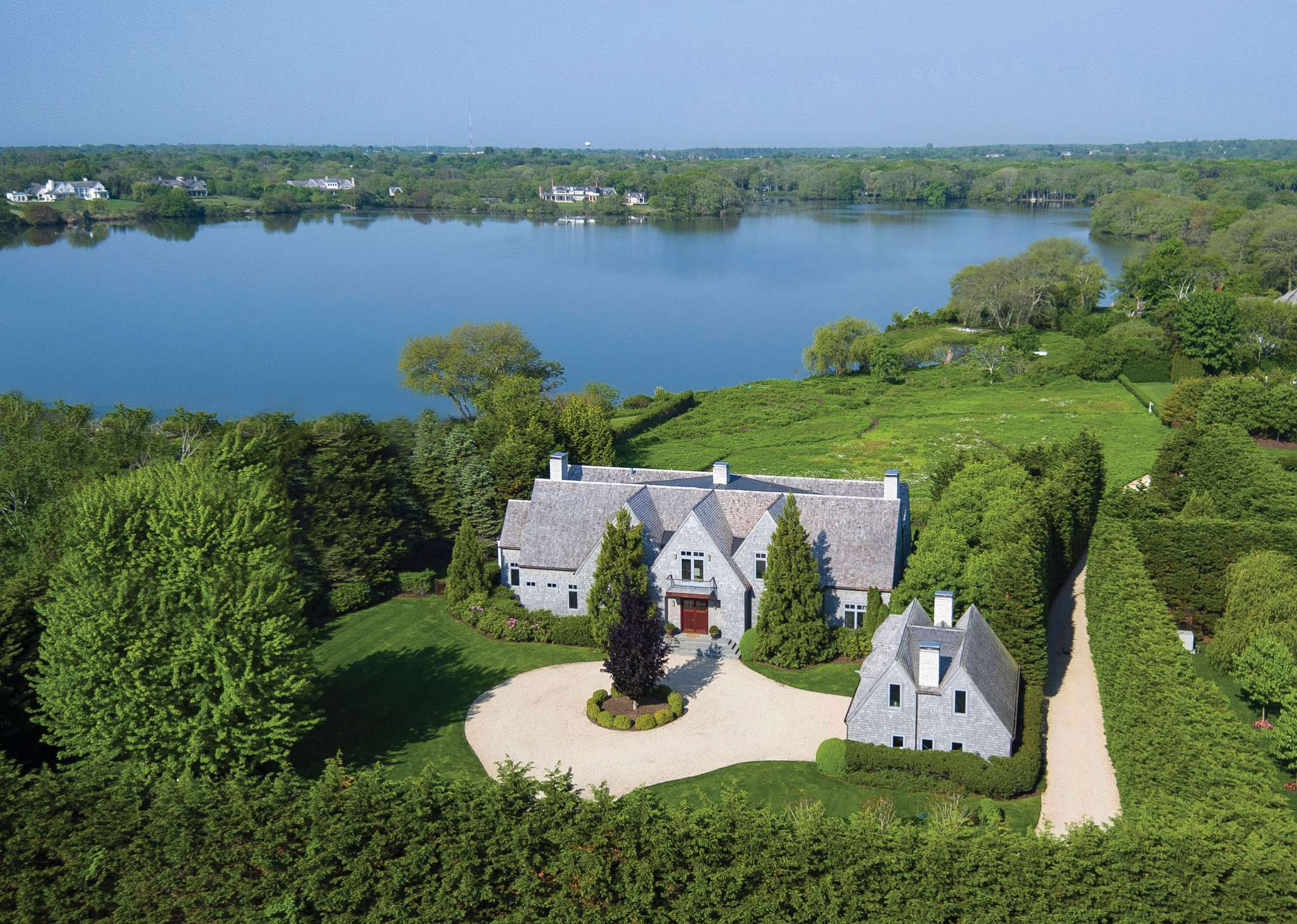 Single Family Home for Sale at Ultimate Private Estate On Mill Pond 280 Deerfield Road, Water Mill, New York